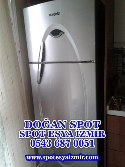 spotcu izmir arcelik inox buzdolabi ikinci el beyaz esya alanlar